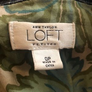 LOFT Jackets & Coats - Hand painted Dragon Fly Denim Jacket by Loft Sz 0p